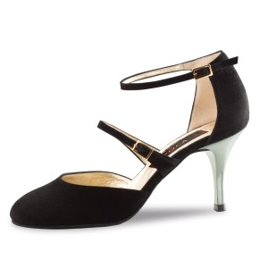 Nueva Epoca - Ladies Dance Shoes Anouk - Suede Black