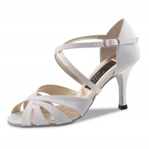 Nueva Epoca - Ladies Dance / Bridal Shoes Paris - White