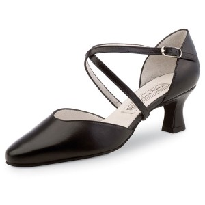 Werner Kern - Ladies Dance Shoes Patty - Black Leather