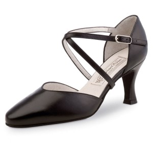 Werner Kern - Ladies Dance Shoes Patty 6,5 - Black Leather