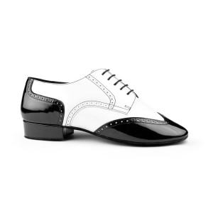 PortDance - Herren Tanzschuhe PD042 Tango - Lack/Leder