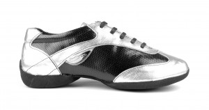 PortDance - Dance Sneakers PD06 Fashion - Silber / Schwarz