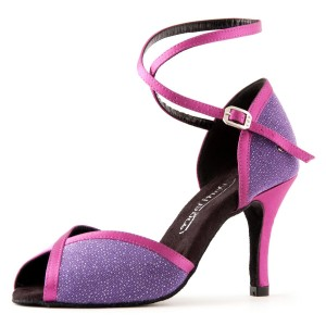 PortDance - Dames Dansschoenen PD500 Fashion - Violett/Fuchsia