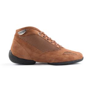 Portdance - Herren Sneakers PD960 - Nubuck/Mesh Braun