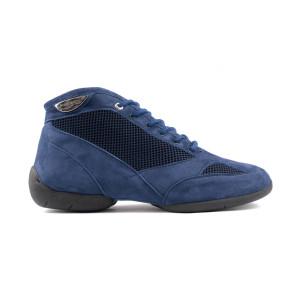 Portdance - Herren Sneakers PD960 - Nubuck/Mesh Blau