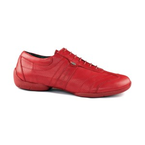 PortDance - Men´s Sneakers PD Pietro Street - Red Leather