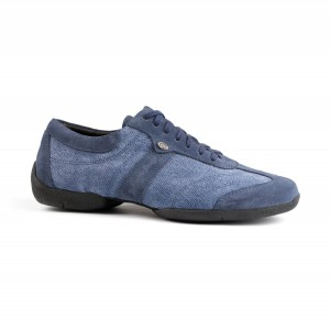 PortDance - Ferfi Sneakers PD Pietro Street - Denim Kék