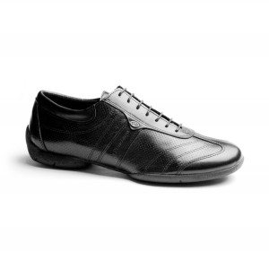 PortDance - Men´s Sneakers PD Pietro Street - Black Leather