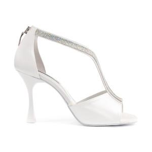 PortDance - Mujeres Zapatos de Baile PD806 Pro - Blanco