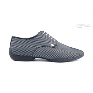 PortDance - Hombres Sneakers PD018 Fashion - Negro/Blanco