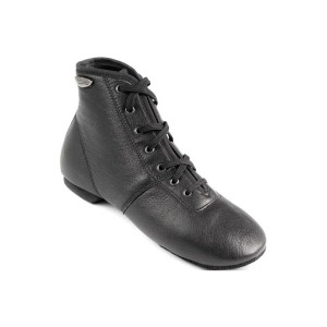 PortDance - Unisex Jazz Sneakers PD J002 - Pelle Nero