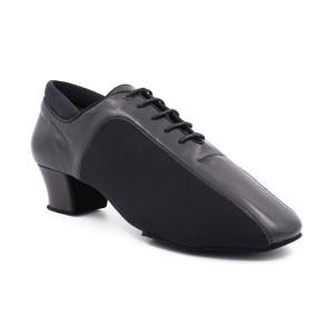 PortDance - Hombres Zapatos de Baile PD015 Pro - Cuero