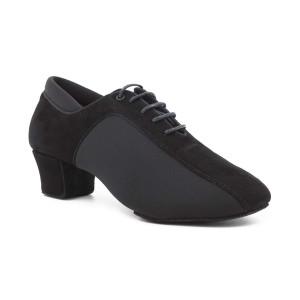 PortDance - Hombres Zapatos de Baile PD015 Pro - Nobuk