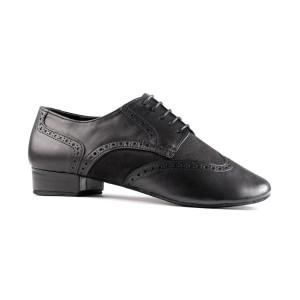 PortDance - Hombres Zapatos de Baile PD042 Tango - Cuero/Nubuck