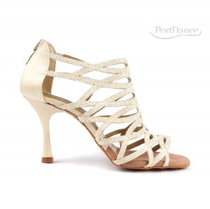 PortDance - Ladies Dance Shoes PD803 Pro - Champagne