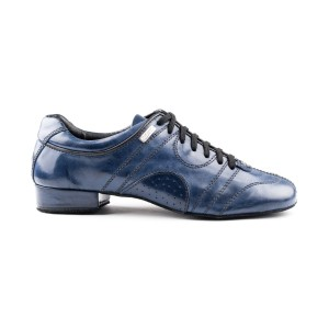 PortDance - Herren Tanzschuhe PD Casual - Leder Blau