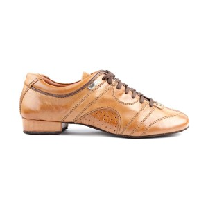 PortDance - Men´s Dance Shoes PD Casual - Leather Brown