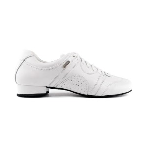 PortDance - Men´s Dance Shoes PD Casual - Leather White