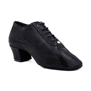 PortDance - Ladies Practice Shoes PD705 - Black Suede