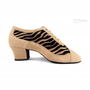PortDance - Ladies Practice Shoes PD703 Fashion - Camel