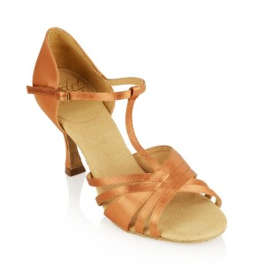 Ray Rose - Damen Tanzschuhe 816-X Medusa - Light Tan Satin