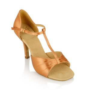 Ray Rose - Damen Tanzschuhe H814-X Frost - Light Tan Satin
