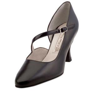 Werner Kern - Femmes Chaussures de Danse Rita - Cuir Noir