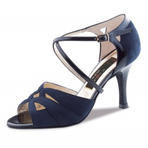 Nueva Epoca - Ladies Dance Shoes Rosita - Suede Navy