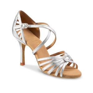 Rummos Ladies Latin Dance Shoes Elite Celine 009 with Rhinestones-Buckle
