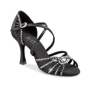 Rummos Ladies Latin Dance Shoes Elite Eris 041S with Rhinestones