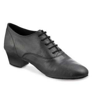 Rummos Hombres Latino Zapatos de Baile Elite FlexLatin 001 - Cuero Negro