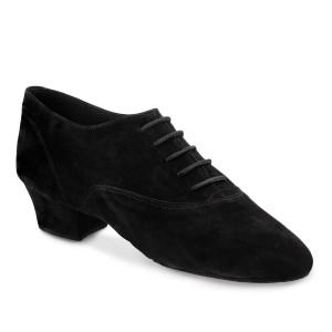 Rummos Hombres Latino Zapatos de Baile Elite FlexLatin 024 - Nobuk Negro