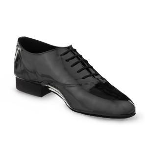 Rummos Homens Sapatos de Dança Elite Flexman 035 - Verniz Preto