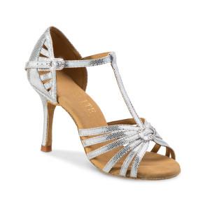 Rummos Ladies Latin Dance Shoes Elite Karina 069 with Rhinestones-Buckle