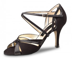 Werner Kern - Ladies Evening Shoes Sienna LS - Black