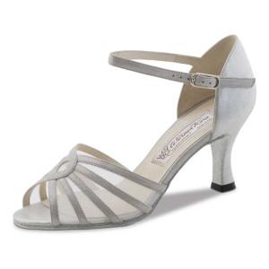 Werner Kern - Ladies Dance Shoes Summer 6,5 - Perl Silver