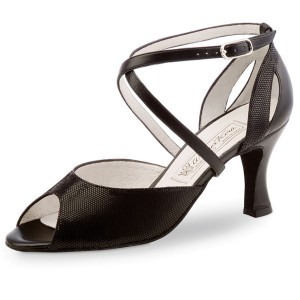 Werner Kern - Ladies Dance Shoes Tiziana - Black Leather