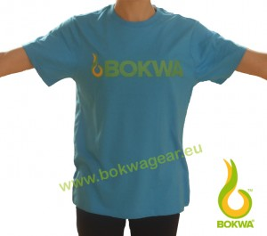 Bokwa® - Trainer Graphic Tee II - Azul