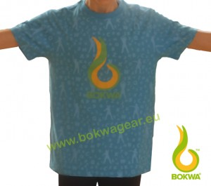 Bokwa® - Trainer Graphic Tee III - Blau