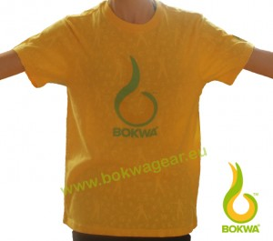 Bokwa® - Trainer Graphic Tee III - Sunburst