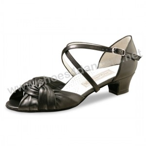 Werner Kern - Mulheres Sapatos de Dança Ulla - Pele Preto