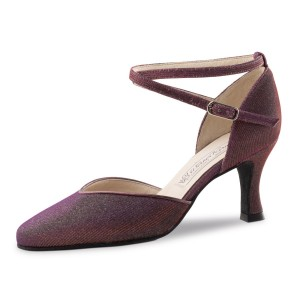 Werner Kern - Ladies Dance Shoes Bella - Brocade Viola