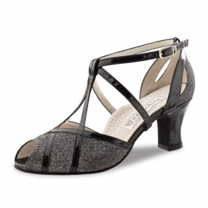 Werner Kern - Ladies Dance Shoes Ginny - Patent/Brocade