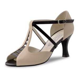 Werner Kern - Ladies Dance Shoes Holly - Black/Beige