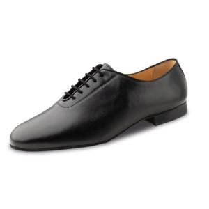 Werner Kern - Homens Sapatos de Dança 28056 - Cuoro Preto