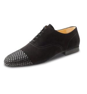 Werner Kern - Hombres Zapatos de Baile 28057 - Ante Negro