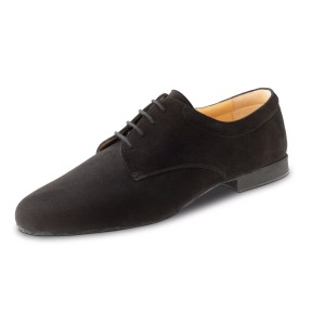 Werner Kern - Hombres Zapatos de Baile 28058 - Ante Negro