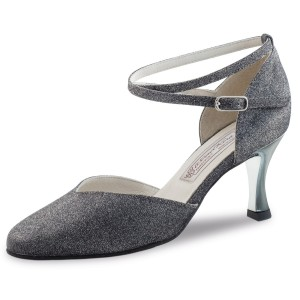 Werner Kern - Ladies Dance Shoes Abby - Brocade Silver