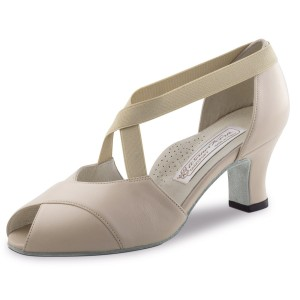 Werner Kern - Femmes Chaussures de Danse Kelly - Cuir Beige