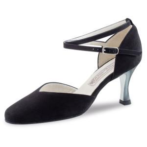 Werner Kern - Mulheres Sapatos de Dança Melodie - Camurça Preto
